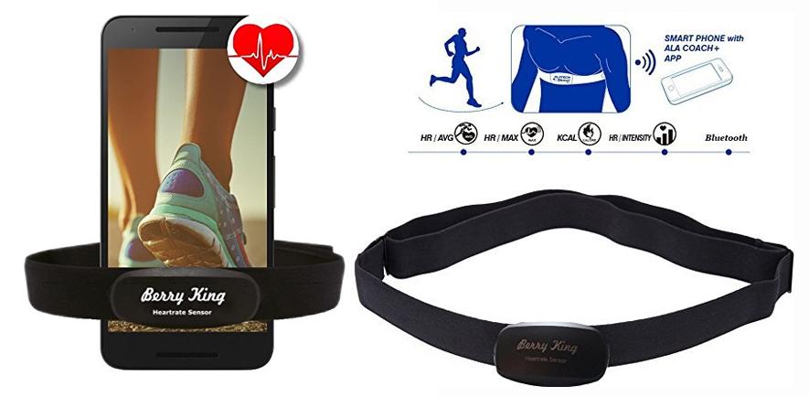 Bluetooth Herzfrequenzmesser für Runtastic
