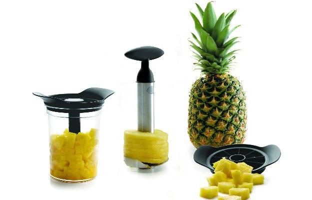 Ananas Schäler und Schneider