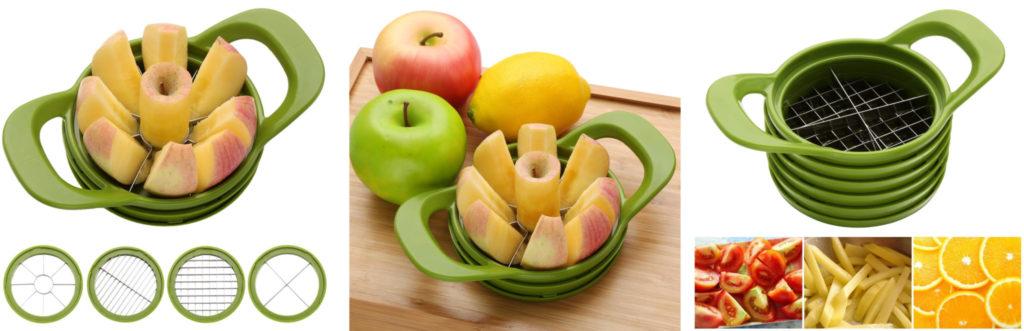 Multifunktions Apfelteiler